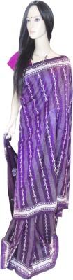 Exin Fashion Woven Kantha Pure Silk Sari