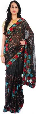 Bazzzar Self Design Bollywood Georgette Sari