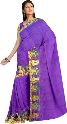 Jiya Fashion Self Design Chanderi Cotton Sari