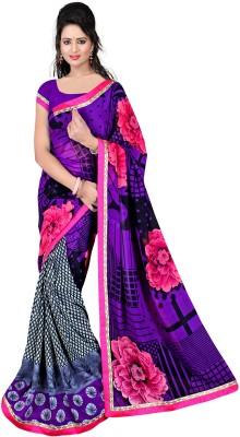 Lauren Creation Printed Daily Wear Chiffon Sari