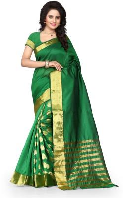 Arya Fashion Embellished Fashion Tussar Silk Sari