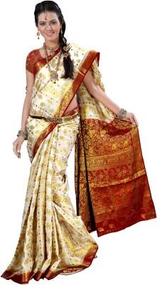 Alankrita Self Design Kanjivaram Art Silk Sari