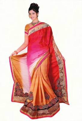 Agarwal Fashions Embriodered Fashion Chiffon Sari