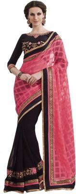Glamour Tex Embriodered Bollywood Jacquard Sari