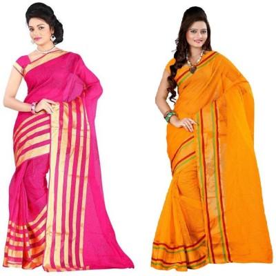 Indian Pahnaav Embellished Bollywood Cotton Sari