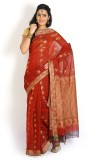 Ennthra Embellished Daily Wear Cotton Sa...