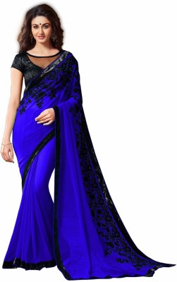 Aracruz Embriodered Fashion Georgette Sari