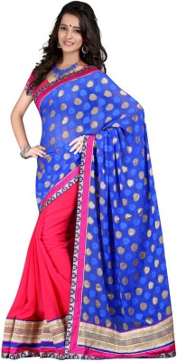 Aryansh Designers Self Design Daily Wear Georgette Sari