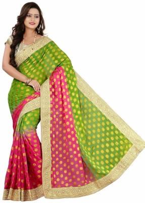 SareeStudio Printed Bollywood Viscose Sari