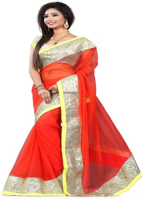 STYLO SAREES Embriodered Bollywood Net Sari