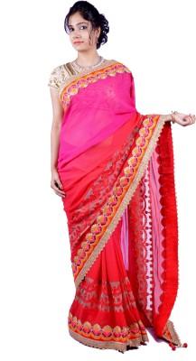 Thakurani Self Design Fashion Handloom Georgette Sari