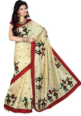 Ishin Printed Fashion Net Sari