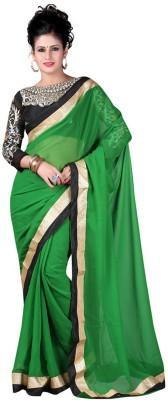 Shree Ganesh Fashion Embriodered Fashion Chiffon Sari