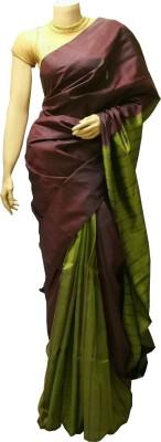 BEAUVILLE VAIIBAVAM Woven Kanjivaram Pure Silk Sari