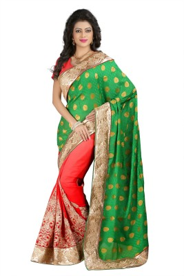 Kyara Embriodered Fashion Georgette Sari