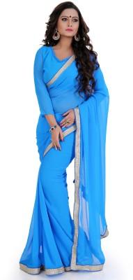 Nilkanthenterprises Self Design Bollywood Georgette Sari