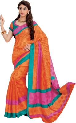 Prafful Printed Fashion Jute Sari