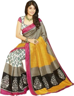RajLaxmi Paisley, Self Design Fashion Cotton Slub Sari