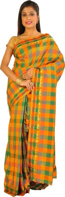 Teeforme Self Design Arani Pattu Art Silk Sari