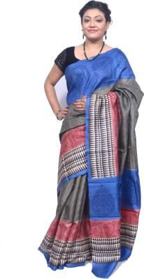 Tanjinas Chevron Fashion Tussar Silk Sari