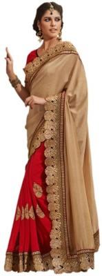 MatindraEnterprise Embriodered Bollywood Handloom Chiffon Sari