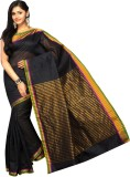 Korni Solid, Striped Banarasi Cotton, Si...