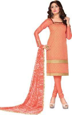 Sonal Trendz Georgette Embroidered Salwar Suit Dupatta Material
