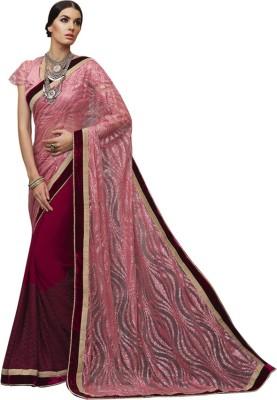 Vardhini Woven Fashion Georgette Sari