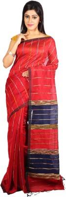 MTPN Solid Dhaniakhali Cotton Sari