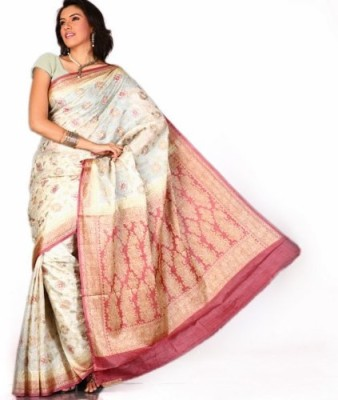 Aapno Rajasthan Woven Bhagalpuri Pure Silk Sari