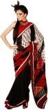 Panash Self Design Fashion Georgette Sar...