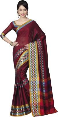 Sonal Saree Plain Bollywood Cotton Sari