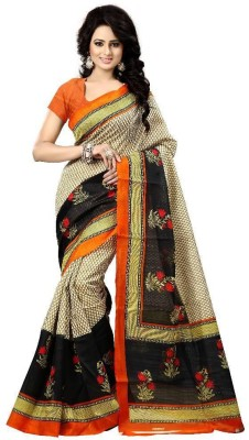 Usha Silk Mills Printed Fashion Silk Sari