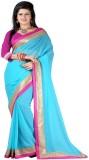 Usha Silk Mills Embriodered Fashion Chif...