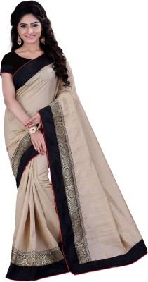 Sarvagny Clothing Solid Bollywood Banarasi Silk Sari