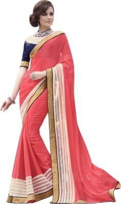 Fabliva Embriodered Bollywood Georgette Sari