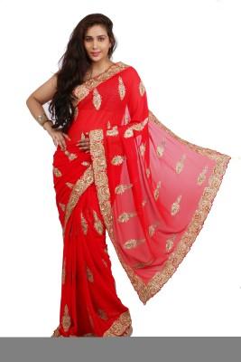 Philanto Design Self Design Bollywood Art Silk Sari