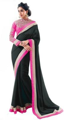 SwaruAndSanju Self Design Fashion Chiffon Sari