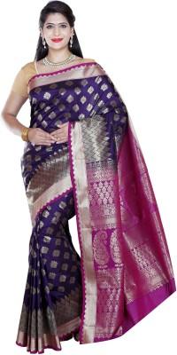 JCN Woven Mysore Silk Sari