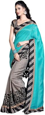 TriveniCreation Self Design Bollywood Art Silk Sari