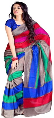 Jay Maa Ambey Creation Printed Bhagalpuri Silk Sari