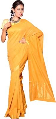 Urbanvillage Self Design Mangalagiri Handloom Cotton Sari