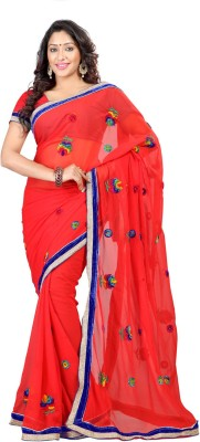 Sanskar Fashion Self Design Fashion Chiffon Sari