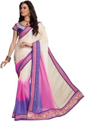Vipul Embellished, Embriodered Fashion Satin, Jacquard Sari