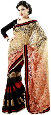 Fashiondodo Self Design Fashion Brasso Sari