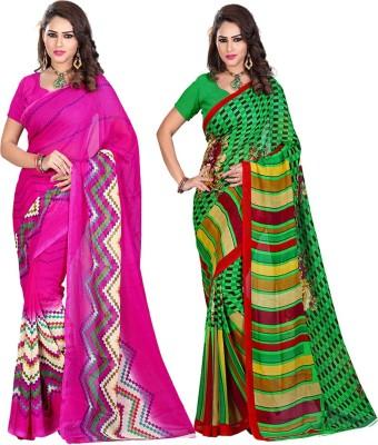 ARAJA Printed Fashion Georgette Sari