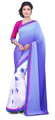 J Milan Embriodered Fashion Brasso Sari