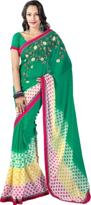 Prafful Embriodered Fashion Georgette Sari