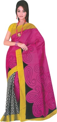 Dhammanagi Printed Daily Wear Cotton Sari
