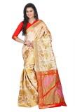 Kataria fabrics Embellished Kanjivaram R...